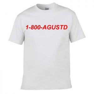 Tshirt 1-800-Agustd