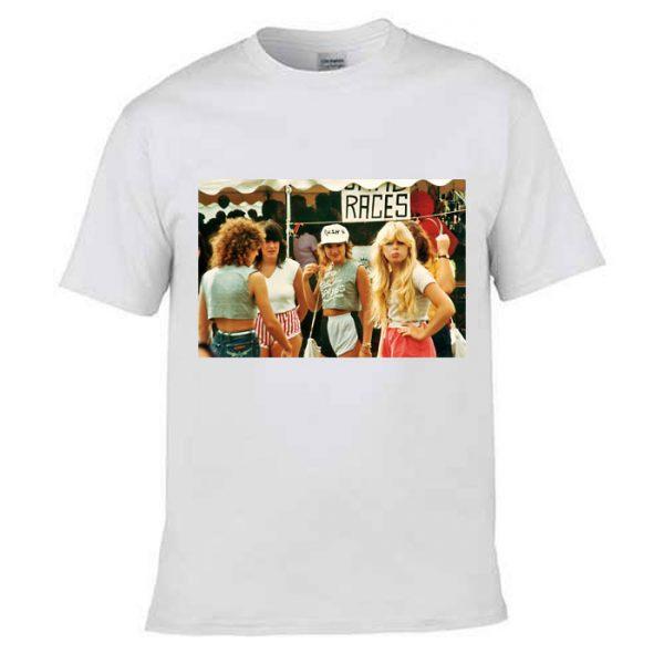 Tshirt 1980s Fashion For Teenager Girls