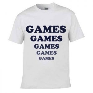 Tshirt Adventure land Games