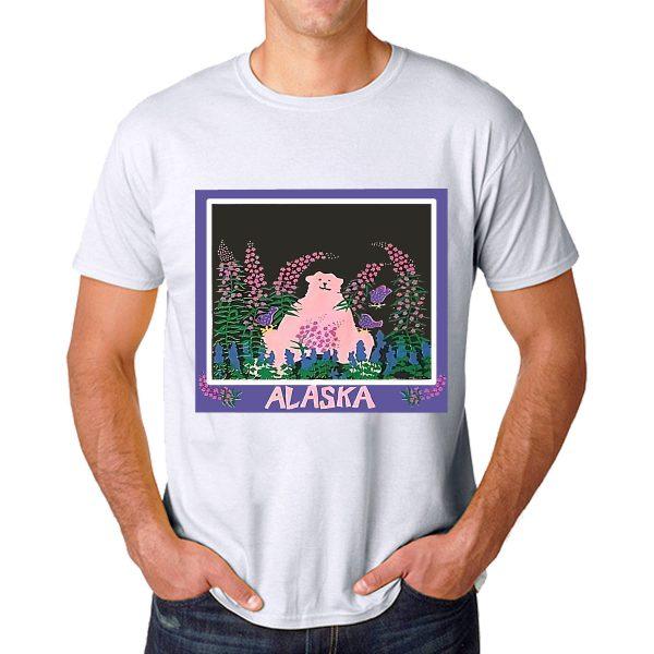 Tshirt Alaska Art Drawing