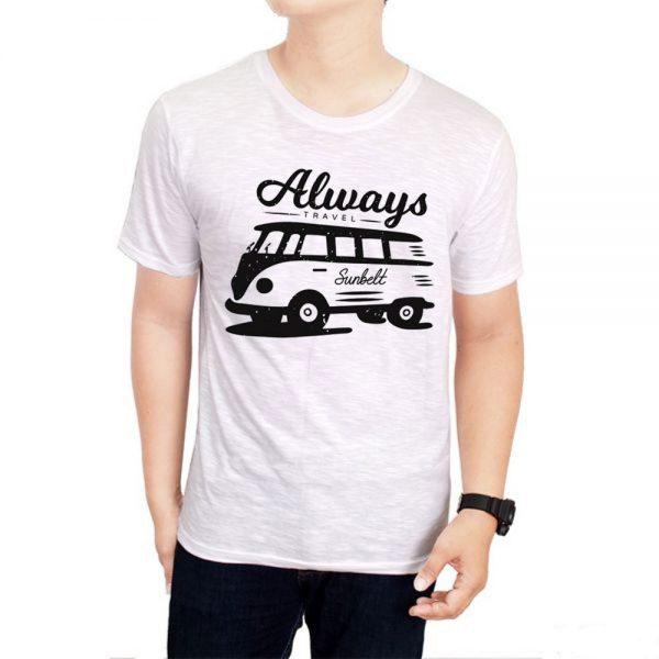 Tshirt Always Travel Sunbelt [TW]