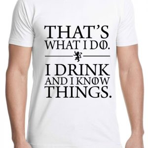 Tshirt Tyrion Lannister quote Game of Thrones [TW]