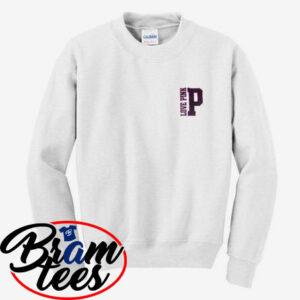 sweatshirt Love pink simple sweatshirt