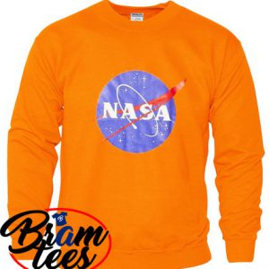 sweatshirt NASA design for sweatshirt