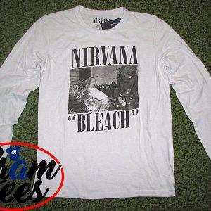 sweatshirt Nirvana Bleach design sweatshirt