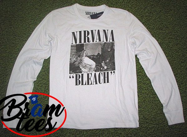 sweatshirt Nirvana Bleach design sweatshirt