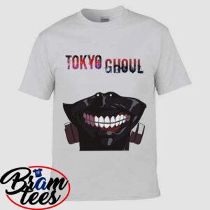 Tshirt Tokyou Ghoul Kaneki Mask shirt