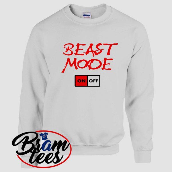 sweatshirt beast mode on off cool sweatshirt