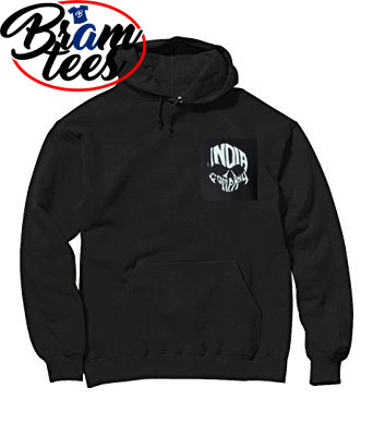Hoodies india company skull design hoddies