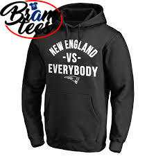 Hoodies new england vs everybody patriot