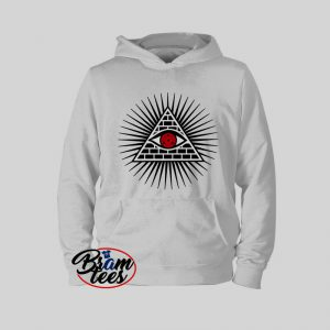 Hoodies Naruto sharingan illuminati eye of horus