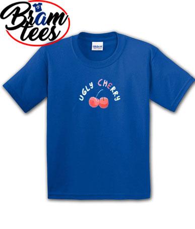 Tshirt ugly cherry cute design shirt