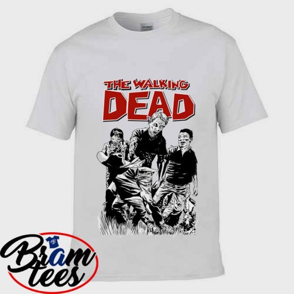 Tshirt Zombie the Walking Dead shirt